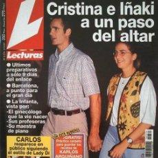 Coleccionismo de Revistas: REVISTA LECTURAS ROCÍO DÚRCAL BELÉN RUEDA MAR FLORES. Lote 129023399