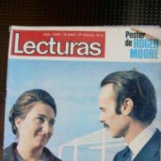Collectionnisme de Magazines: LECTURAS Nº 1034 - FEBRERO DE 1972 (FALTA EL POSTER). Lote 129321335