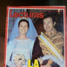 Collectionnisme de Magazines: LECTURAS Nº 1039 - 17 DE MARZO DE 1972 (FALTA EL POSTER). Lote 129321587