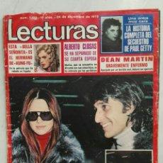 Coleccionismo de Revistas: REVISTA LECTURAS 28/12/1973 MARISOL DEAN MARTÍN. Lote 129426634