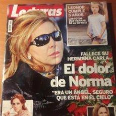 Coleccionismo de Revistas: REVISTA LECTURAS. NOV. 2010. Lote 130261810