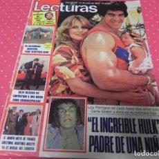 Magazine Collection - REVISTA LECTURAS 31/07/1981 BARBARA REY / SERRAT / JULIO IGLESIAS - 131170896
