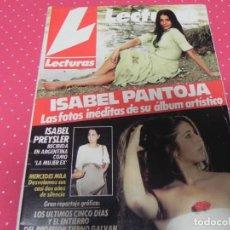 Coleccionismo de Revistas: LECTURAS 04/02/1996 ISABEL PANTOJA - ISABEL PREYSLER - CARMINA ORDOÑEZ . Lote 131199260