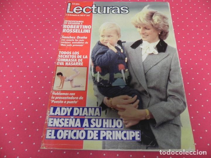 LECTURAS-1983-SARA MONTIEL-EVA NASARRE-ESTEFANIA-VICTORIA ABRIL-SALOMÉ-PINO D´ANGIO (Coleccionismo - Revistas y Periódicos Modernos (a partir de 1.940) - Revista Lecturas)
