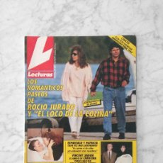 Coleccionismo de Revistas: LECTURAS - 1991 - ROCIO JURADO, ROCIO CARRASCO, JEANETTE RODRIGUEZ, ANA OBREGON, JUNCAL RIVERO. Lote 132272822
