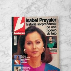 Coleccionismo de Revistas: LECTURAS - 1993 - ISABEL PREYSLER, VICKY LARRAZ, ROCÍO JURADO, ISABEL PANTOJA, SYLVIE VARTAN. Lote 132291178