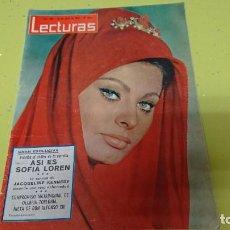Coleccionismo de Revistas: REVISTA LECTURAS AÑO 1965 - SOFÍA LOREN, KENNEDY.... . Lote 133293622