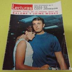 Coleccionismo de Revistas: REVISTA LECTURAS AÑO 1966 - ANUNCIO BODA SALOMÉ Y JAIME MOREY . Lote 133293886