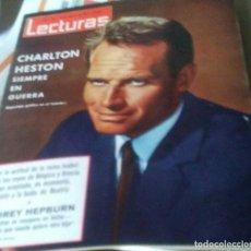 Coleccionismo de Revistas: REVISTA LECTURAS.FEBRERO 1966.MARISOL.CHARLTON HESTON. Lote 133317698