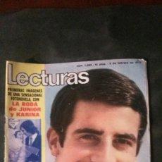 Coleccionismo de Revistas: ALEJANDRO ONASSIS-CARLOS GOYANES-JUNIOR-PAQUITA RICO-SALOMÉ-JOSE MARIA IÑIGO-. Lote 133636374