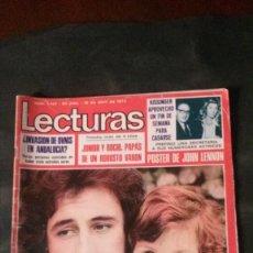 Coleccionismo de Revistas: ESTEFANIA-JOSELITO-ANA BELEN-BEATLES-LENNON-ROCIO DURCAL-NINO BRAVO-MISS ESPAÑA-CRUYFF-JAMES BOND. Lote 133637030