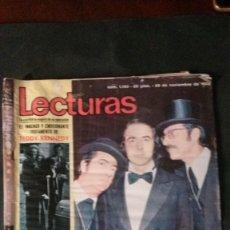 Coleccionismo de Revistas: SERRAT-AGATA LYS-CELIA GAMEZ-ROCIO DURCAL-FRANCISKA-JUAN BAU. Lote 133638430