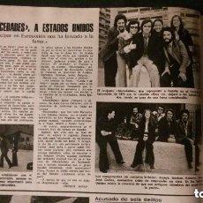 Coleccionismo de Revistas: MOCEDADES. RECORTE REVISTA. Lote 133639434
