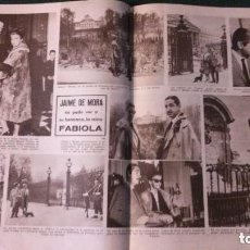 Coleccionismo de Revistas: JAIME DE MORA. RECORTE REVISTA. Lote 133639614