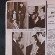 Coleccionismo de Revistas: ROMY SCHNEIDER. RECORTE REVISTA. Lote 133639730