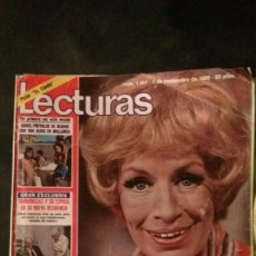 Coleccionismo de Revistas: DEREK JACOBI-CHARLTON HESTON-JIMENEZ DEL OSO-LOS ROPER-ISABEL PREYSLER. Lote 133769498