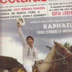 Coleccionismo de Revistas: REVISTA LECTURAS Nº 867 AÑO 1968. RAPHAEL. JACQUELINE. SOFIA LOREN. . Lote 133816906