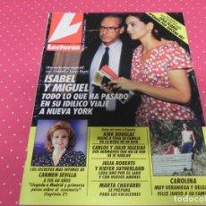 Coleccionismo de Revistas: REVISTA LECTURAS Nº2048 AÑO 1991 ISABEL PREYSLER CARMEN SEVILLA KIRK DOUGLAS MARTA CHAVARRI. Lote 133827558