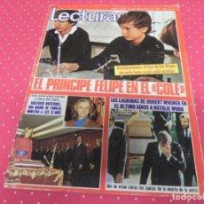 Coleccionismo de Revistas: REVISTA LECTURAS Nº1548 AÑO 1981 / PRINCIPE FELIPE EN EL COLE.SOLEDAD BECERRIL,ROBERT WAGNER.. Lote 133848794