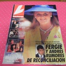 Coleccionismo de Revistas: REVISTA LECTURAS Nº2090 AÑO 1992 / ANTONIO MACHIN SENSACION DE VIVIR FERGIE Y ADRES DIANA DE GALES. Lote 133849674