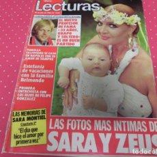Magazine Collection - REVISTA LECTURAS Nº1632 AÑO 1983 SARA MONTIEL, FAMA, FIORELLA FALTOYANO, ESTEFANIA - 133977602