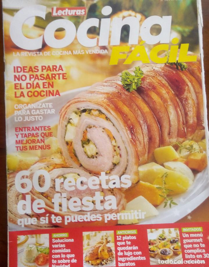 revista de lecturas cocina facil 60 recetas de - Comprar Revista ...