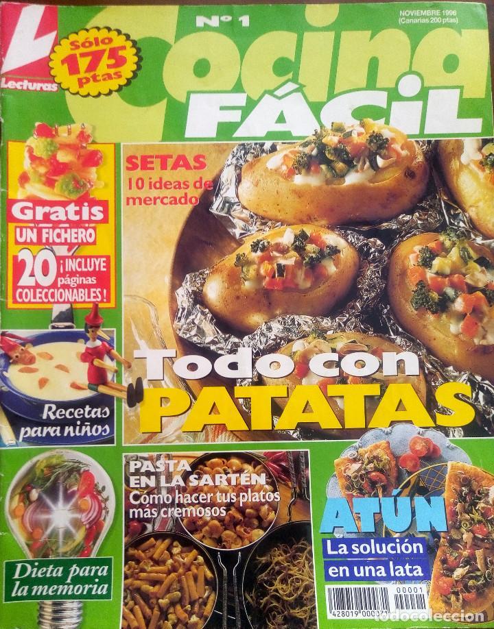 revista de lecturas cocina facil nº 1 todo con - Kaufen Zeitschrift ...