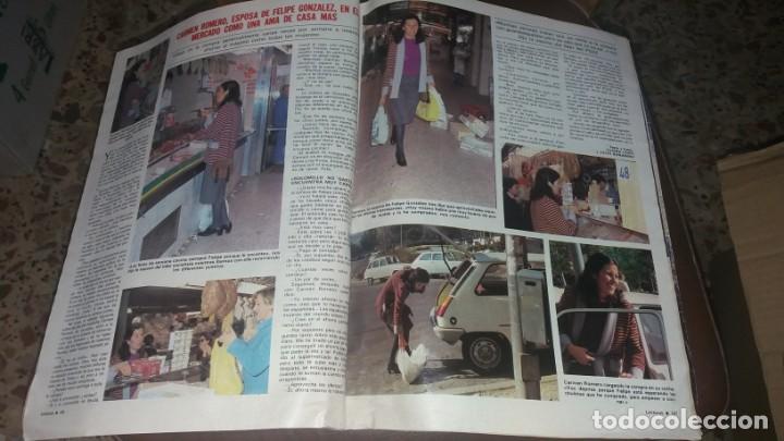 Coleccionismo de Revistas: Número 1546 año 1981 Sara Montiel Isabel Preysler Carmen Romero Manolo Escobar sidra el Gaitero Kiko - Foto 2 - 134266850