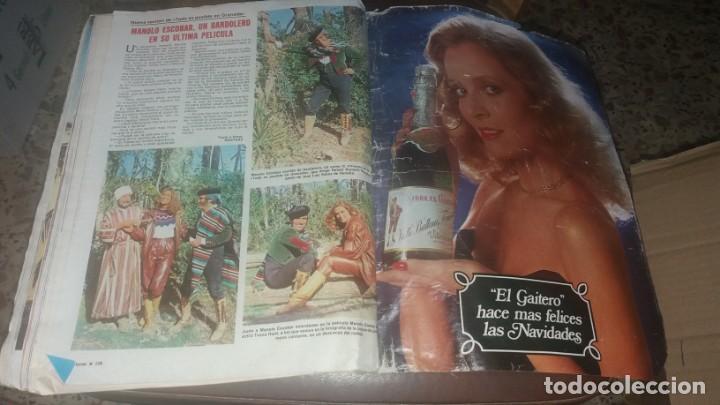 Coleccionismo de Revistas: Número 1546 año 1981 Sara Montiel Isabel Preysler Carmen Romero Manolo Escobar sidra el Gaitero Kiko - Foto 3 - 134266850