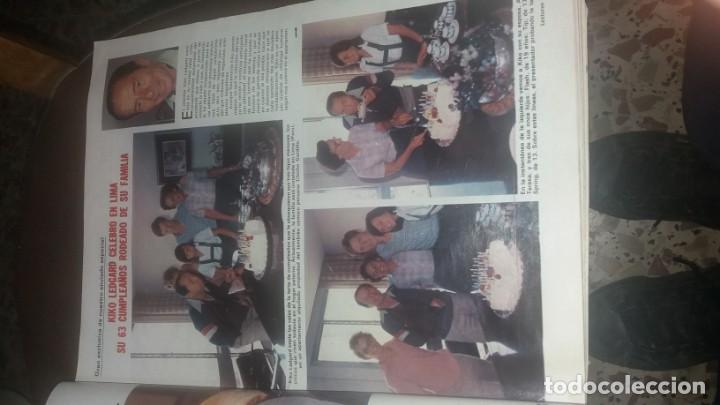Coleccionismo de Revistas: Número 1546 año 1981 Sara Montiel Isabel Preysler Carmen Romero Manolo Escobar sidra el Gaitero Kiko - Foto 4 - 134266850