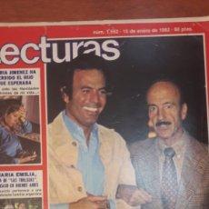 Coleccionismo de Revistas: LECTURAS SECRUESTRO PADRE JULIO IGLESIA N 1552 1982 15 ENERO. Lote 142717578