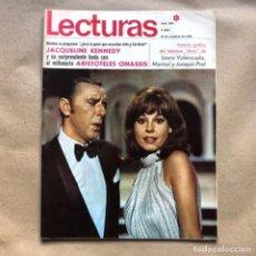 Collectionnisme de Magazines: REVISTA LECTURAS N° 862, DEL AÑO 1968. LAURA VALENZUELA, MARISOL, JOAQUÍN PRAT, JAQUELINE KENNEDY,... Lote 135112574