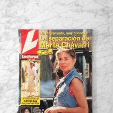 Coleccionismo de Revistas: LECTURAS - 1995 - MARTA CHAVARRI, EL FARY, ISABEL PANTOJA, LYDIA BOSCH, ANA OBREGON, LOLITA, PECOS. Lote 135669047