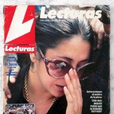 Coleccionismo de Revistas: LECTURAS - 1984 - ISABEL PANTOJA, RICHARD CHAMBERLAIN, PAQUIRRI, PILAR FRANCO, CAROLINA, ESTEFANIA. Lote 98051035