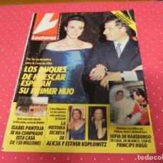 Coleccionismo de Revistas: REVISTA LECTURAS - Nº 1977 1990 JESSICA LANGE, ISABEL PANTOJA, ESTEFANÍA, ALICIA Y ESTHER KOPLOWITZ. Lote 136373002