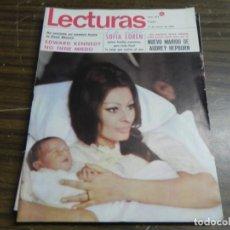 Coleccionismo de Revistas: LECTURAS17/01/1969 SOFIA LOREN - AUDREY HERPBURN - EDWAR KENNEDY . Lote 136472310