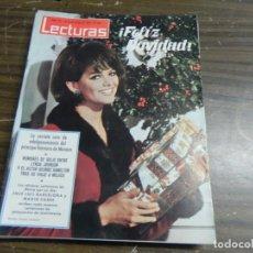Coleccionismo de Revistas: LECTURAS 24/12/1965 RAINIERO DE MONACO - LYNDA JHONSON - GEORGE HAMILTON . Lote 136472358
