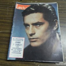 Coleccionismo de Revistas: LECTURAS 12/03/1965 EL GRAVISIMO ACCIDENTE DE JOHNNY Y CHARLEY , LOS CREADORES DE LA YENKA . Lote 136472446