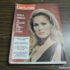 Coleccionismo de Revistas: LECTURAS 16/07/1965- URSULA ANDRESS- LUCY JOHSON- GARY COOPER- NINA DIYER. Lote 136483918