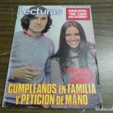 Coleccionismo de Revistas: LECTURAS 16/06/1972- RAPHAEL- VICTOR MANUEL Y ANA BELEN. Lote 136484422