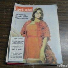Coleccionismo de Revistas: LECTURAS 13/11/1964- ANN MANGENET- EL REY SAUD- ANA Mª Y CONSTANTINO- GRACE DE MONACO. Lote 136485146