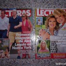 Coleccionismo de Revistas: LECTURAS - LOTE DE 2 REVISTAS.. Lote 136595510
