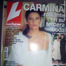 Coleccionismo de Revistas: REVISTA LECTURAS NOVIEMBRE 1997. Lote 137189497