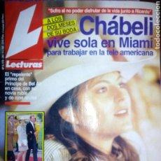 Coleccionismo de Revistas: REVISTA LECTURAS, NOVIEMBRE 1993. Lote 137192696