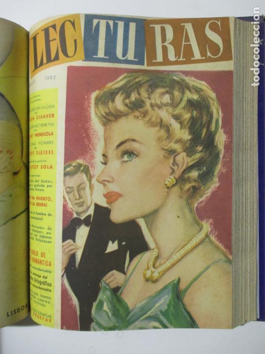 Coleccionismo de Revistas: 9 REVISTAS LECTURAS. AÑOS DE 1941 A 1953. NÚMEROS DEL 201 AL 347. VER DESCRIPCIÓN Y FOTOS. - Foto 6 - 137204126