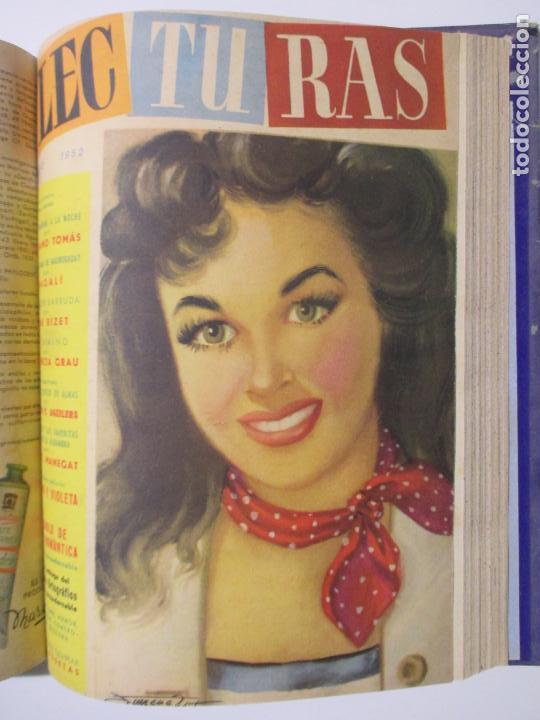 Coleccionismo de Revistas: 9 REVISTAS LECTURAS. AÑOS DE 1941 A 1953. NÚMEROS DEL 201 AL 347. VER DESCRIPCIÓN Y FOTOS. - Foto 8 - 137204126