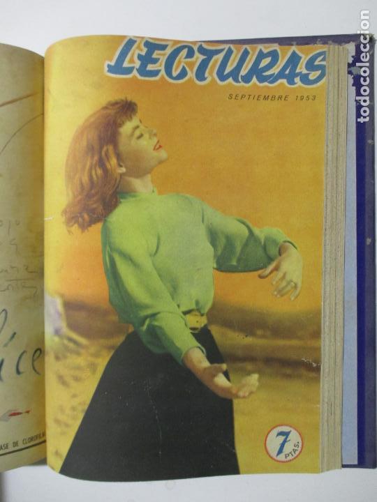 Coleccionismo de Revistas: 9 REVISTAS LECTURAS. AÑOS DE 1941 A 1953. NÚMEROS DEL 201 AL 347. VER DESCRIPCIÓN Y FOTOS. - Foto 10 - 137204126