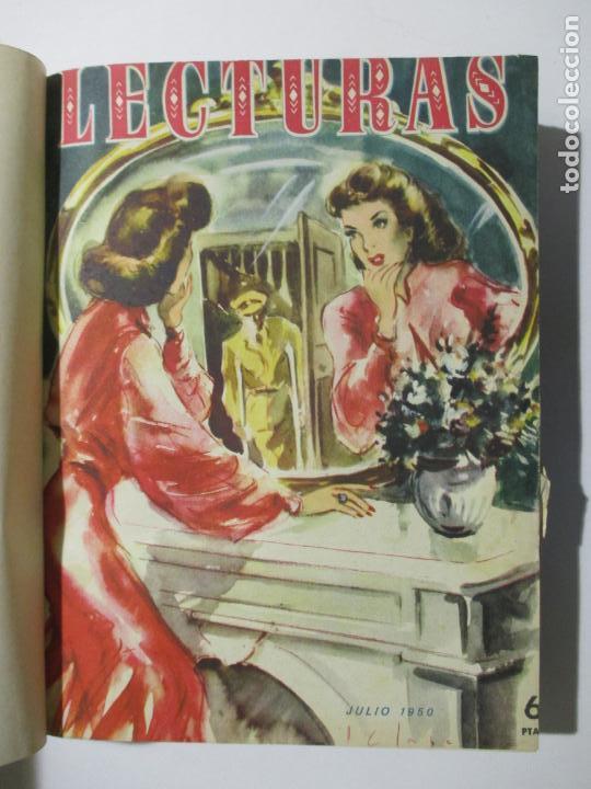 Coleccionismo de Revistas: 17 REVISTAS LECTURAS. AÑOS DE 1950 A 1953. NÚMEROS DEL 309 AL 348. VER PORTADAS EN FOTOS. - Foto 2 - 137204666