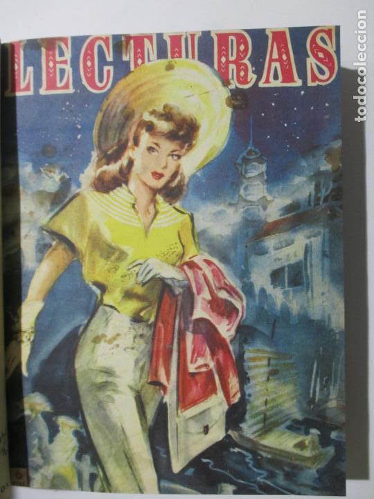 Coleccionismo de Revistas: 17 REVISTAS LECTURAS. AÑOS DE 1950 A 1953. NÚMEROS DEL 309 AL 348. VER PORTADAS EN FOTOS. - Foto 3 - 137204666