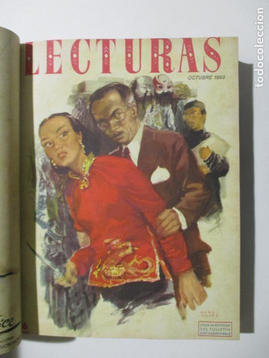 Coleccionismo de Revistas: 17 REVISTAS LECTURAS. AÑOS DE 1950 A 1953. NÚMEROS DEL 309 AL 348. VER PORTADAS EN FOTOS. - Foto 4 - 137204666